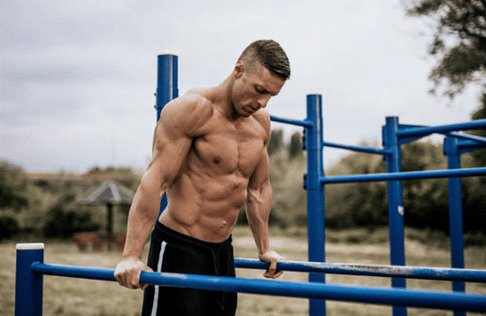 Musculation poids du corps - Dips