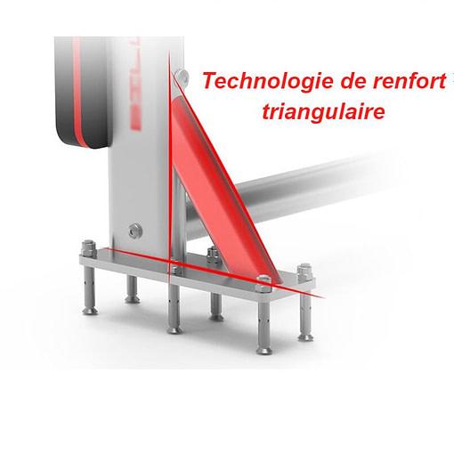 Barre De Traction Murale Avec Dips FS6000 | Workout-Calisthenics - 4