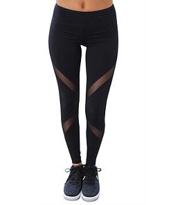 Legging Noir Transparent Sport WSL200106 | DesignYou-Legging