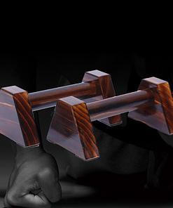 Parallettes Bois Fabrication P5997 | Workout-Calisthenics 2