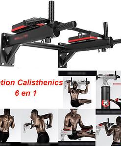 Barre De Traction Murale Avec Dips FS6000 | Workout-Calisthenics - 2