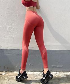 Legging Sport Rouge WSL200101 | Workout-Calisthenics