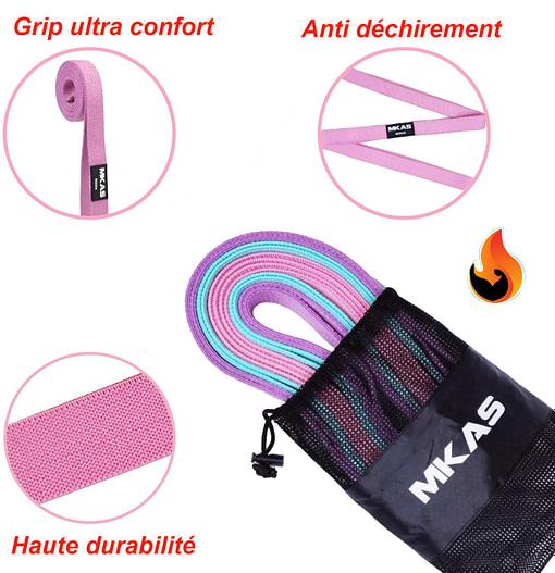 Élastique Fitness MF3372 Anti pincement - Anti déchirement