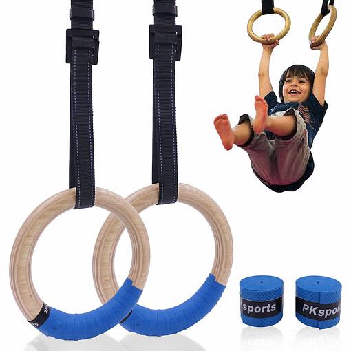 Anneaux Gymnastique Enfant G3371 | Workout-Calisthenics -