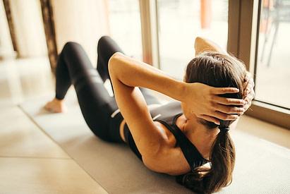 Exercice Street Workout - Crunch Abdos