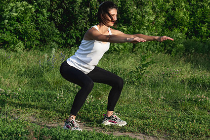 Exercice Street Workout 6 - Squat