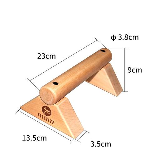 Parallettes Wood P5862 | Workout-Calisthenics 3