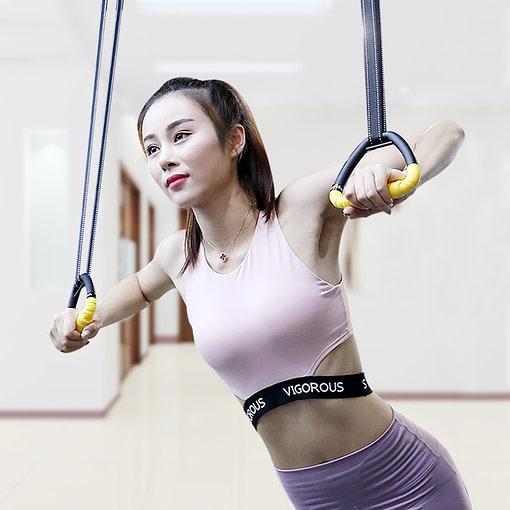 Anneaux Gymnastique Femme Plastique G3158 | DesignYou-Calisthenics 2