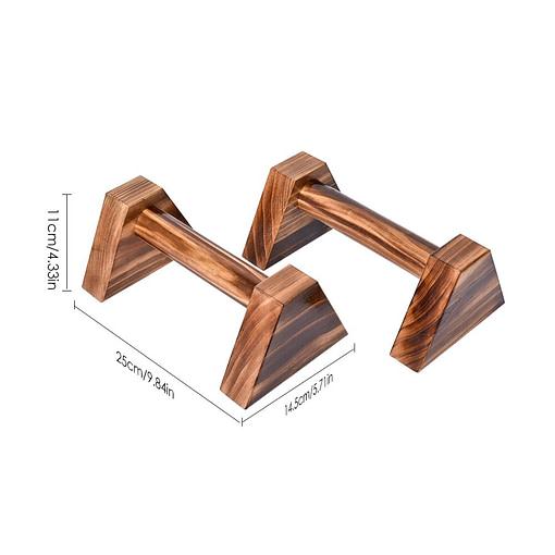 Wooden Parallettes W5878 | Workout-Calisthenics 3