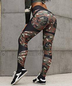 Legging Sport Camouflage Femme WSL200104