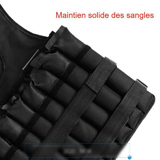 Gilet Lesté Noir L391 - 3