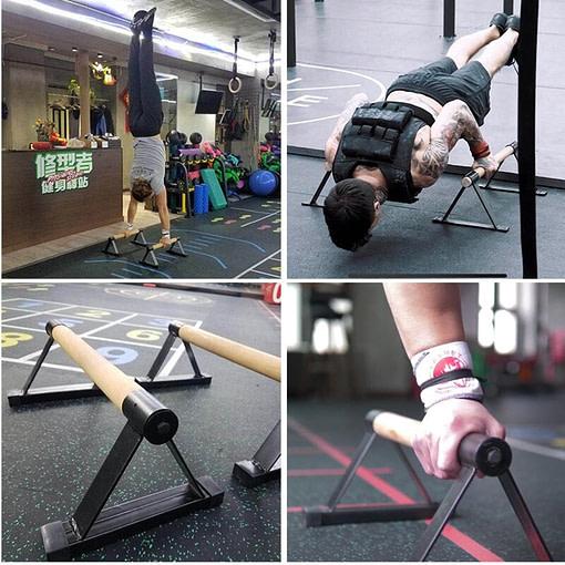Parallettes Acier P5970   Workout-Calisthenics 7