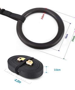 Anneaux Gymnastique Extérieur G3161 | DesignYou-Calisthenics 6