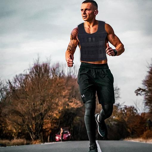 Gilet Lesté 30 Kg Homme L357 Homme Course à pieds   Workout-Calisthenics