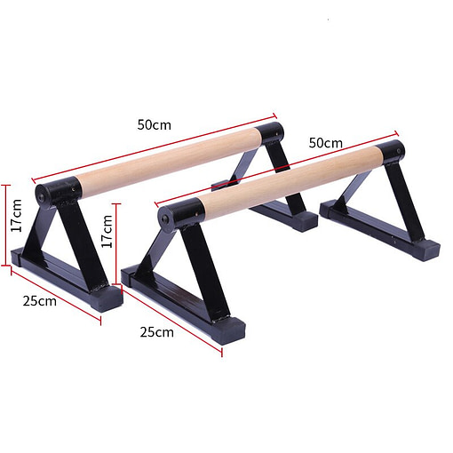 Parallettes Acier P5970   Workout-Calisthenics 3