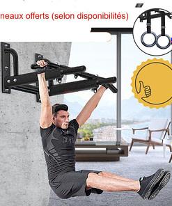 Barre De Traction Murale Musculation F250 | DesignYou Calisthenics 21