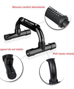 Mini Parallettes Workout M5933   Workout-Calisthenics 7
