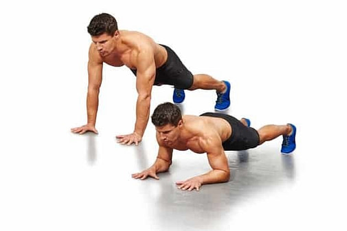 Calisthenics-Workout-Pompes-tigre-tiger-push-up