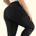 Legging Taille Haute Sport Gainant BSWSL200401 Noir | DesignYou-Legging