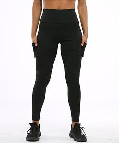 Legging De Sport Avec Poche PWSL200402 Noir 4 | DesignYou-Legging