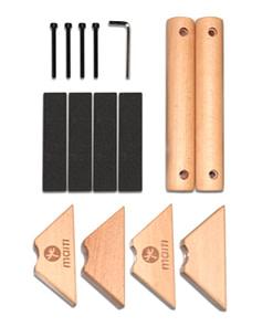 Parallettes Wood P5862 | Workout-Calisthenics 4