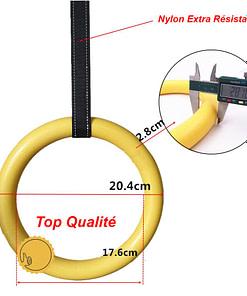 Anneaux Gymnastique Plastique D3160 | DesignYou-Calisthenics 3